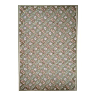 """Pasargad Aubusson Hand-Woven Wool Rug- 8' 0"""" X 10' 0"""""""