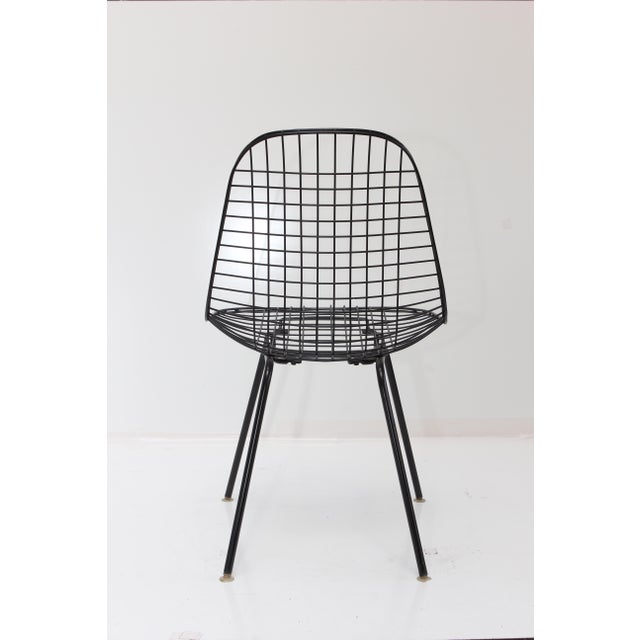 Herman Miller Wire Side Chair - Image 4 of 10