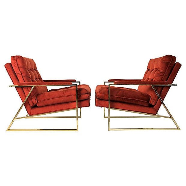 Mid-Century Lounge Chairs - A Pair - Image 2 of 9