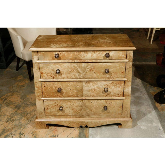 Paul Marra European Style Chest in Mappa Vaneer - Image 2 of 8