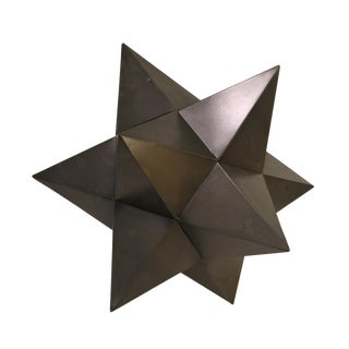 Tin Metal Geometric Star