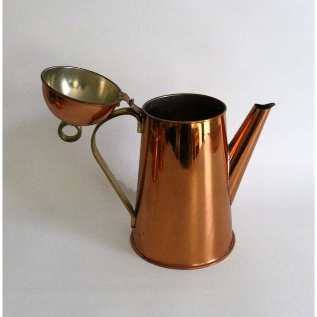 Copper Coffee Service - Set of 3 - Image 3 of 8