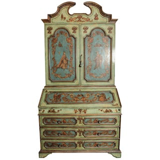 Unique, Sicilian Decoupage Secretary