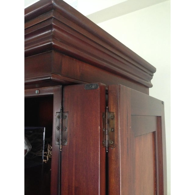 Classic Wood Armoire/Wardrobe - Image 7 of 10
