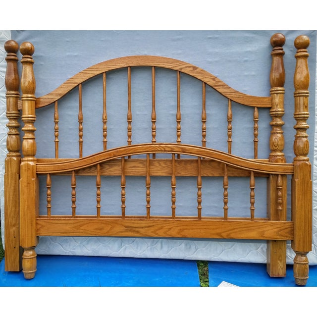 Vintage Pennsylvania House Queen Size Poster Bed - Image 2 of 10