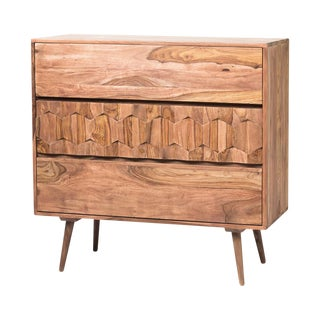 Solid Sheesham Retro Chest