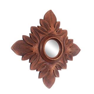 Vintage Faux Bois Mirror