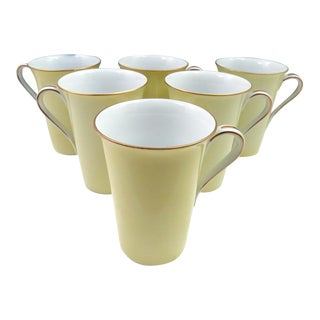 Vintage Noritake Coffee Mugs - Set of 6