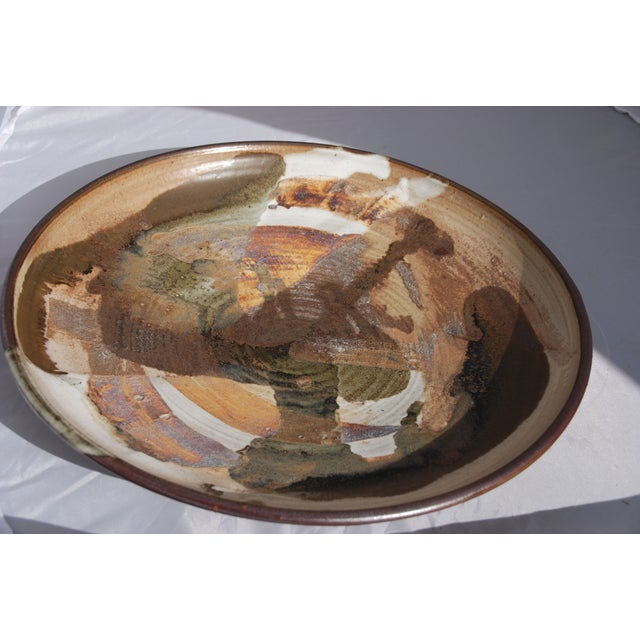 Mid-Century William Wyman Style Pottery Charger - Image 7 of 11