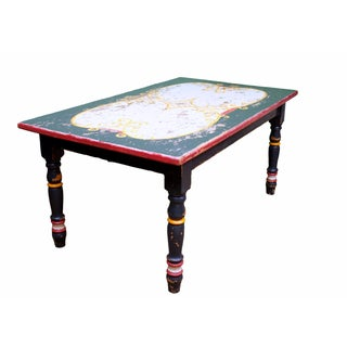 Painted Cottage Style Farm Table