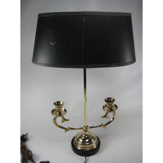1974 French Bouillotte Lamp by Chapman - Image 4 of 8