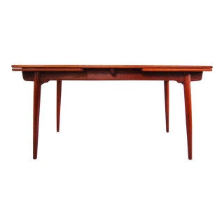 Danish Modern Hans Wegner Teak Dining Table