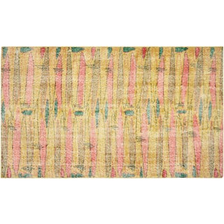 "Turkish Art Deco Rug - 3'10"" x 6'8"""