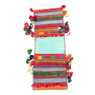 Vintage Afghani Saddle Bag - 1′2″ × 3′1″