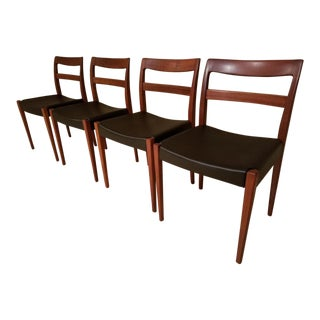 Troeds Garmi by Nils Jonsson Mid-Century Swedish Modern Teak Dining Chairs - Set of 4