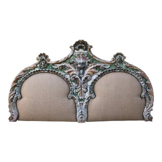 19th Century French Painted Headboard