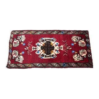 Handmade Turkish Carpet - 1′9″ × 3′8″