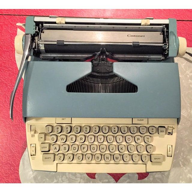 Smith Corona Typewriter 1960s Electric Coronet - Image 2 of 11