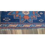 "Image of Vintage Caucasian Kazak Rug - 3'6"" X 4'8"""