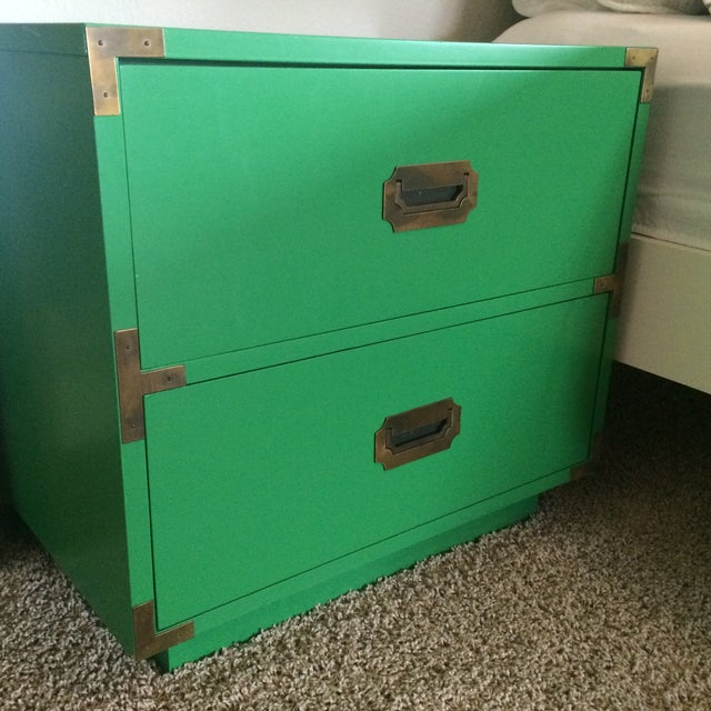 Dixie Campaign Nightstands - Pair of Two - Image 4 of 8
