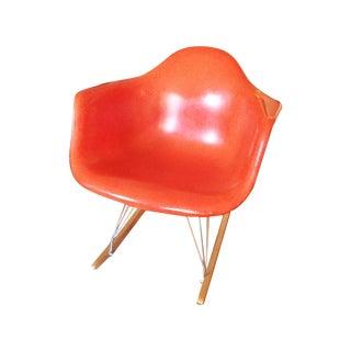 Herman Miller Orange Eames Rocker