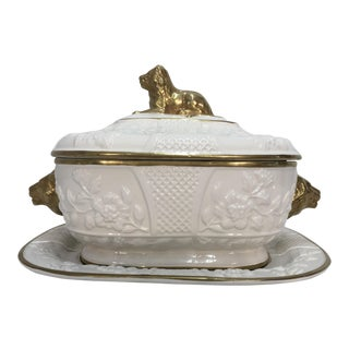 Mottahedeh Tureen with Underplate