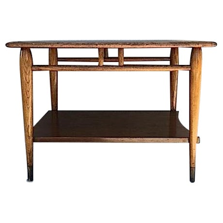 Mid Century Lane Side Table - Image 1 of 6