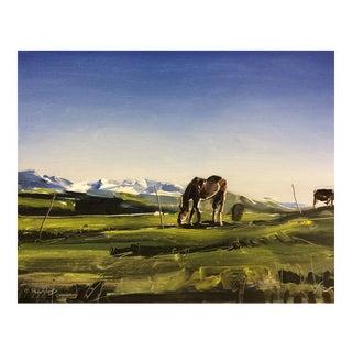 'Telluride Horse, Colorado' Painting