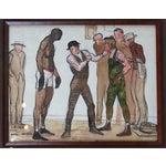 Image of Carl Hugo Beetz 1938 Boxing Coach Painting
