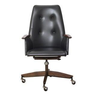 Mid Century Executive High Back Office Chair