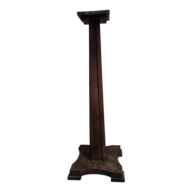 Unfinished Wood Plant Stand ~ Solid wood plant stand chairish