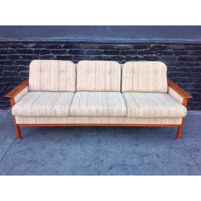 Mid Century Danish Teak Sofa - Image 3 of 8