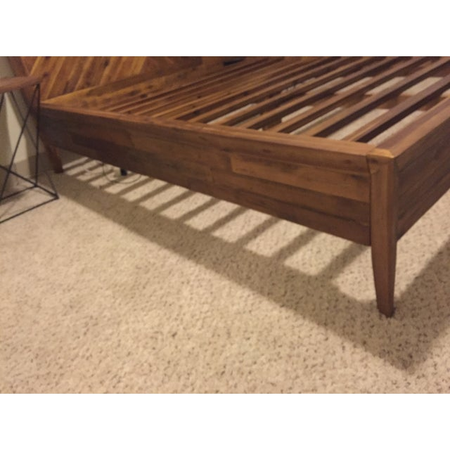 West Elm Queen Alexa Bed - Image 5 of 6