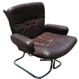 Ingmar Relling for Westnofa Rosewood Lounge Chair
