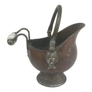 Delft Copper Bucket