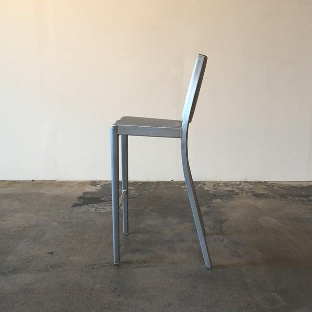 Philippe Starck Emeco Hudson Bar Stools - A Pair - Image 4 of 5