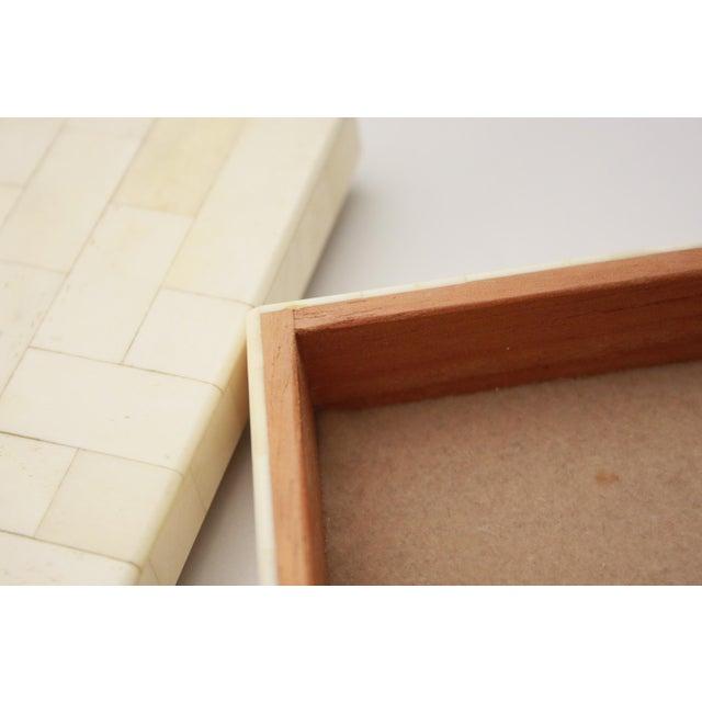 Tessellated Bone Trinket Box - Image 9 of 11