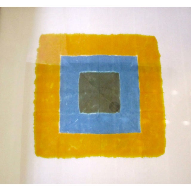 Josef Albers att Modern Abstract Square Artwork - Image 4 of 8