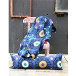 Image of Blue Suzani Kantha Pillow
