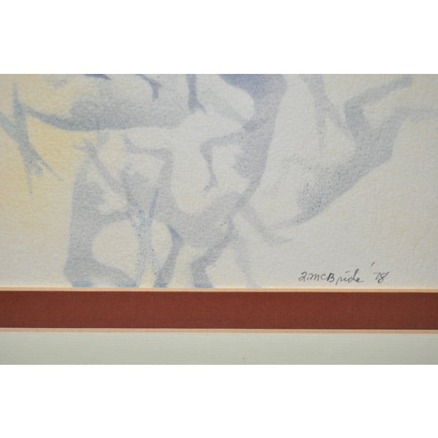 Mid-Century Modern Airbrush Painting by McBride - Image 10 of 11
