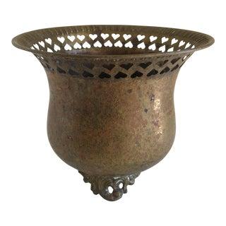 Rustic Boho Brass Plant Vessel