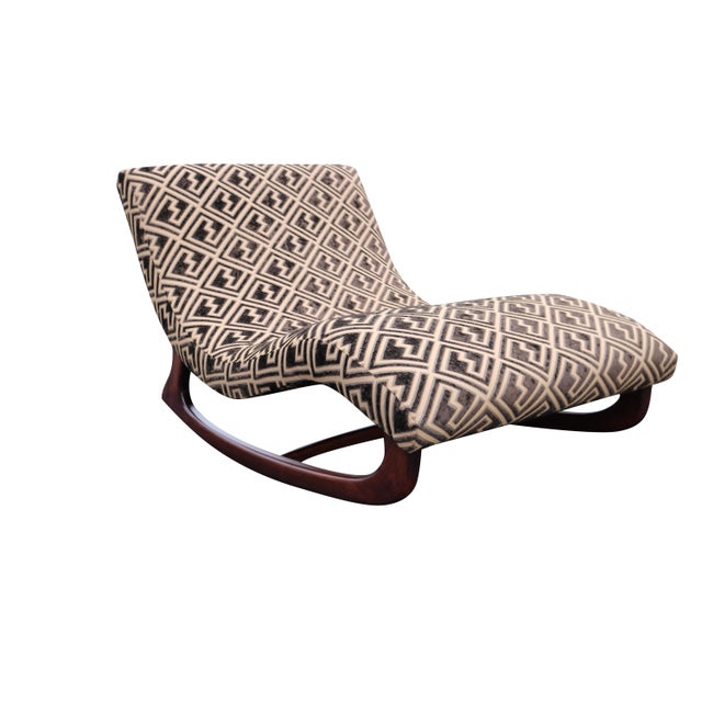 Image of Adrian Pearsall Rocking Wave Chaise Chair