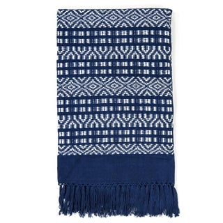 Indigo Handwoven Chiapas Throw