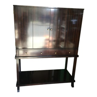 Macassar Ebony Bar Cabinet by Councill Furniture
