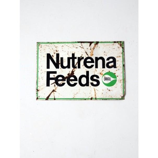 Image of Vintage Nutrena Feeds Metal Sign