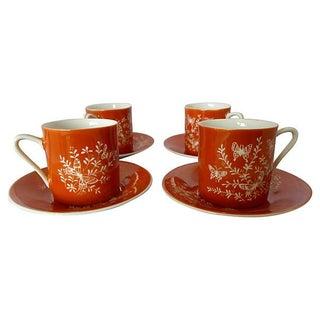 Mid-Century Asian Tea Set - Set of 4