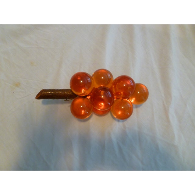 1970s Vintage Lucite & Driftwood Grapes - Image 4 of 8