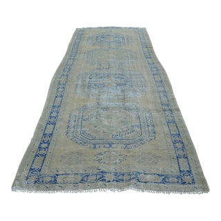 Antique Turkish Runner Rug - 4′9″ × 13′6″