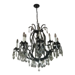 European Style Wrought Iron Chandelier