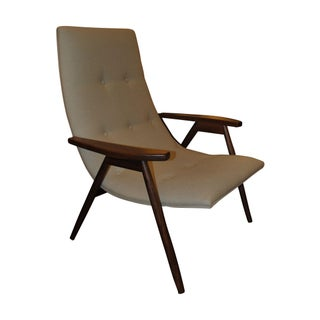 Alan Gould Eggshell Chair for Thayer Coggin